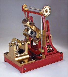 John Peer's 1874 gear-cutting machine