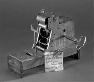 Samuel Morse's 1849 telegraph