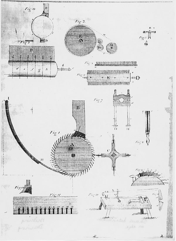 It is a graphic of Juicy Cotton Gin Easy Drawing